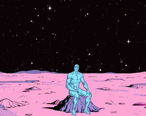doctor-manhattan-alone
